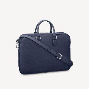Louis Vuitton Dandy MM Briefcase - Bleu Marine